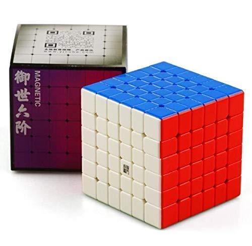 CuberSpeed YJ Yushi v2 M 6x6 Magnetic stickerless Speed Cube YJ 6X6X6 M Cube