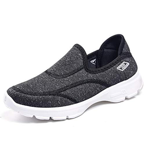Zapatos de una Sola Pierna para Mujer Antideslizantes, Transpirables, Viejos Zapatos de Tela de Pekín, Zapatos para Caminar, Zapatos de Madre de Mediana Edad