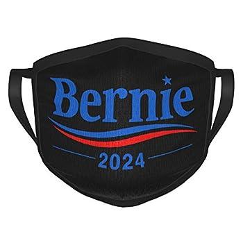 Feel The Bern 2024 Bernie Sanders Face Mask Unisex Balaclava Comfortable Washable Reusable Fashion for Adult