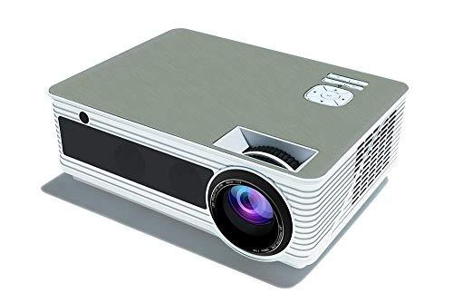 Proyector, Home Theatre, Office WiFi Práctico Proyector 1280P Contraste 1500: 1 Altavoz estéreo Compatible con Reproductor de DVD BLU Ray / PS3 / PS4 / Xbox/Entrada HDMI