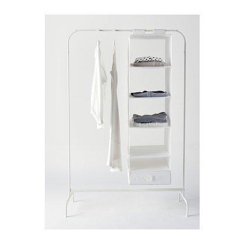 IKEA mULIG-clothes rack, blanc 99 x 46 cm