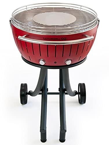 LotusGrill XXL Rojo Barbacoa De Carbón, 78x78x48 cm