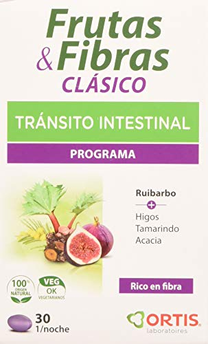 Ortis Fruta y Fibra Clasico 30 Comprimidos - 1 Unidad