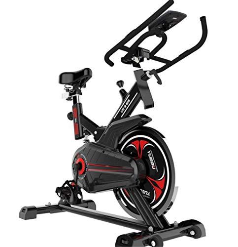 Lcyy-Bike Allenatori di Bicicletta Resistenza Magnetica 8 kg Volano Cardio Workout con Display Multifunzionale Manubrio Regolabile E Altezza del Sedile