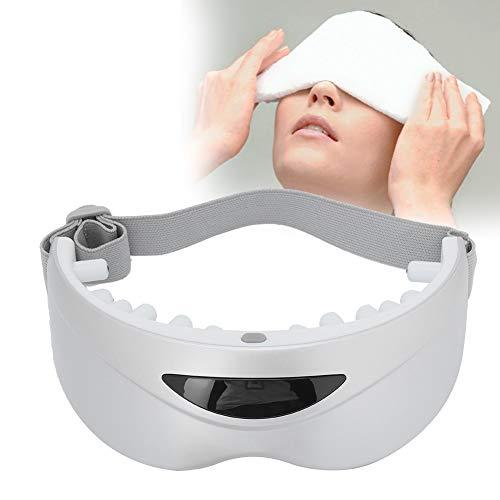 Maschera per gli occhi riscaldata, Massaggiatore per gli occhi USB Sollievo per la protezione degli occhi per le maschere del...