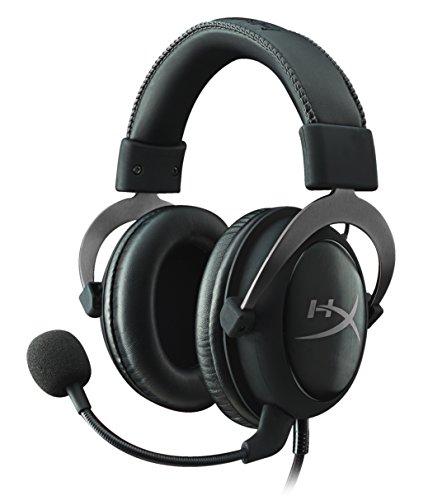 Kingston HyperX KHX-HSCP-GMRC Cloud II Gaming Headset for PC/PS4/Mac/Mobile, Gunmetal  Silver (Reacondicionado)