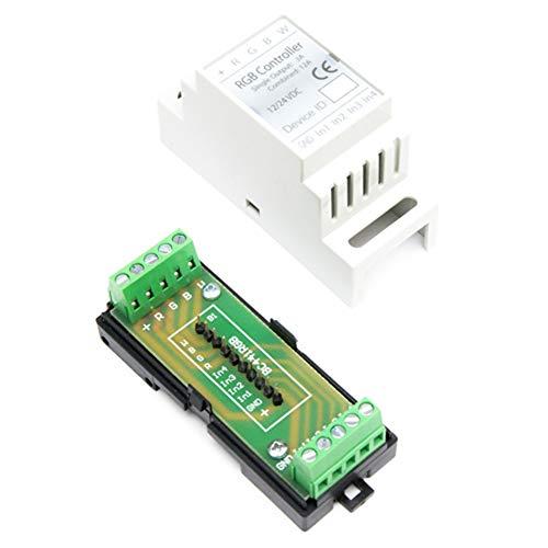 Haseman DIN Gehäuse für Fibaro FGRGBW-442 / FGRGBWM-441 Controller