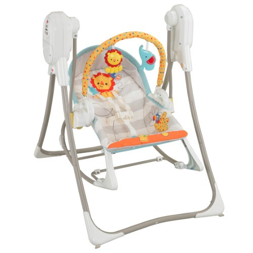 Fisher-Price Balancelle pour bébé Swing-n-rocker 3 en 1