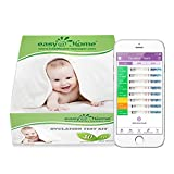 Easy@Home 40 Ovulationstest Streifen und 10 Schwangerschaftstest Streifen -Unterstützt durch die kostenlose Premom Ovulation APP (40 LH + 10 HCG Tests)