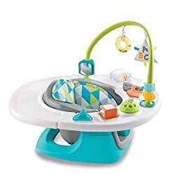 Image of the Summer Infant 4-in-1 Deluxe SuperSeat in Teal with a link to purchase through Amazon