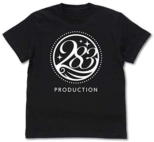 TOPOI アイドルマスター シャイニーカラーズ 283プ 人気 コットン ロックンロールTシャツ 映画Tシャツ 半袖Tシャツ