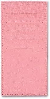インナーカードケース 長財布用カードケース 10枚収納可能 カード入れ 収納 プレゼント ギフト ( パウダーピンク ) 無地