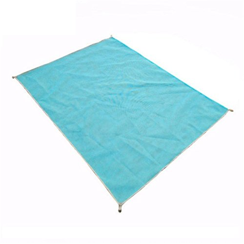 Hung Kai Beach Mat Sand Proof Rug Picnic Blanket - Sand Dirt & Dust disapper! - Fast Dry, Easy to Clean Perfect for the Beach Picnic Camping Outdoor Events(79