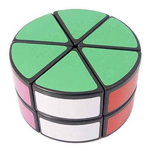 letaowl Cubo Mágico 2 Capas Cilindro Capa Pétalo Columna Magic Cube Speed Puzzles Juguetes Educativos Juguetes Especiales para Niños Cubo