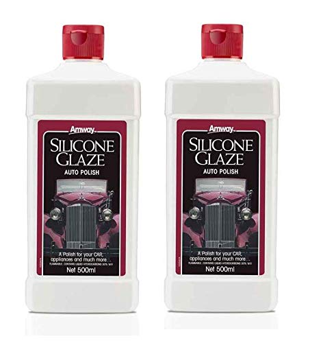SSR Esmalte de silicona para coche, 500 ml, 2 botellas