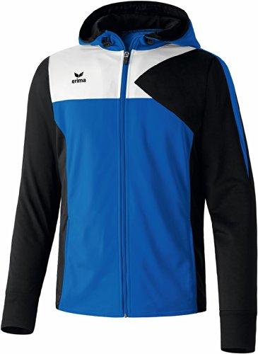 erima Herren Premium One Trainingsjacke mit Kapuze, Blau (New Royal/Schwarz/Weiß), 1074, M