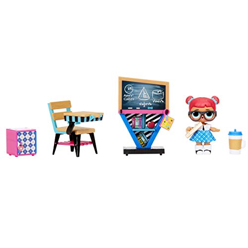 L.O.L. Surprise! Furniture Classroom with Teacher's Pet & 10+...
