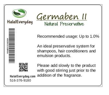 Germaben II - Natural Preservative - Clear Liquid Preservative - Great...