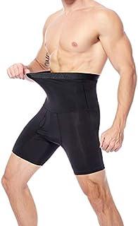 Cocosmart Waist Trainer For Men Corset Waist Trainer Body Shaper Man Male Trainers Abdominal Binder Shapewear Slimming Modeling Strap Tummy Shaper Girdle Belt Black X-Large