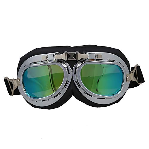 NSGJUYT Gafas de Sol de la Motocicleta Bici de Seguridad Colored Glasses
