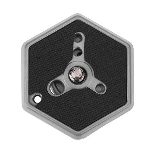 A sixx Accessori per Fotocamera , Esagonale 3049 1 4 Vite Piastra a sgancio rapido , per 030-14 RC0 3063 per videocamere DSLR Videocamera