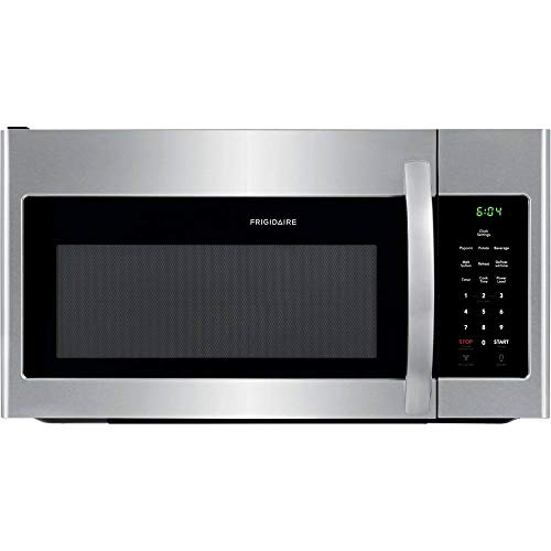 FRIGIDAIRE FFMV1846VS 30' Stainless Steel Over the Range Microwave with 1.8 cu. ft. Capacity, 1000 Cooking Watts, Child Lock and 300 CFM
