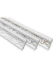 Stuckprofielen sierlijsten | EPS | vormvast | Marbet | 53x53mm | B-6 klassiek 20 Meter / 10 Strips wit