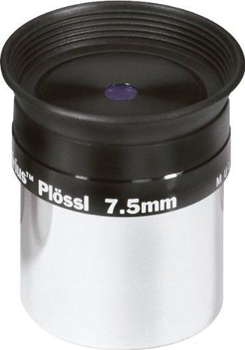 Pieza Ocular para telescopio de Orion 8738 Sirius Plossl de 7,5 mm