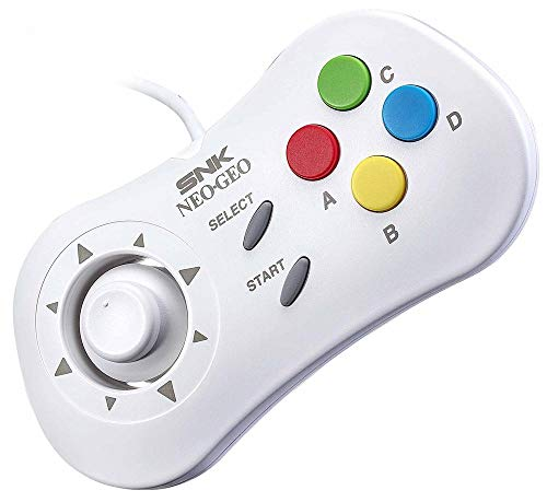 Neo Geo Mini - Gamepad Mini, Blanco (Neo Geo