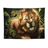 Lion Muzzle Art Drawing Predator King of Beasts Poster Decorative Oil Painting Canvas Wall Art Living Room Posters Bedroom Painting 60'×80'