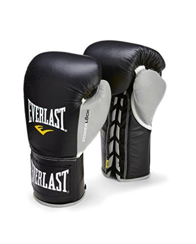 Everlast PowerLock Pro Fight Gloves 8oz blk/Gry PowerLock Pro Fight Gloves