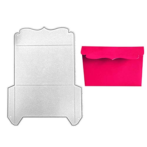 Troquel de corte en relieve DIY Uticon, troquel de corte de sobres, álbum de recortes, repujado, papel de bricolaje, tarjeta de felicitación, molde para plantilla, color plateado