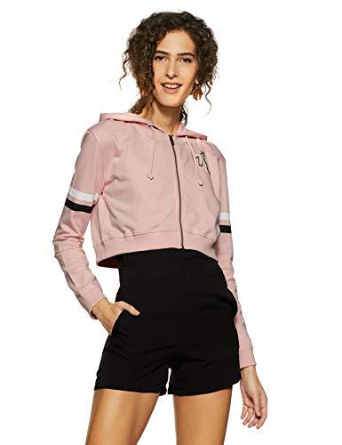 Pepe Jeans Women's Sweatshirt (PL580804_Pink_XL)