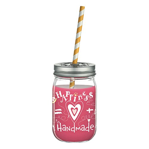RITZENHOFF Make It Take It - Vaso de cristal para smoothies de...