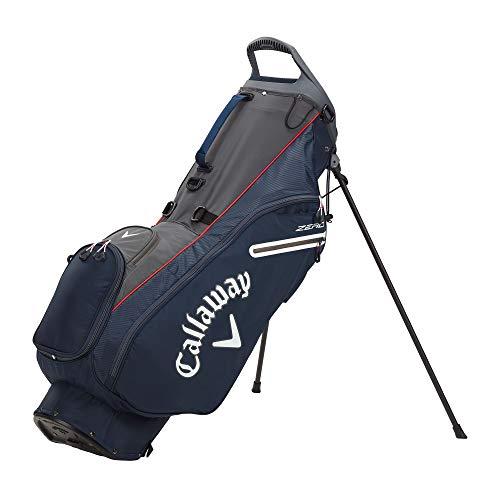 Callaway Golf 2021 Hyperlite Zero Stand Bag , Navy/Charcoal/White