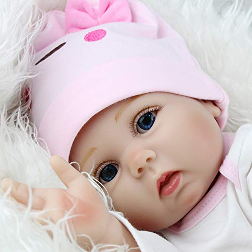Kaydora Reborn Baby Doll 22 Inch Handmade Weighted Baby Girl Reborn Toddler with A Cute Giraffe