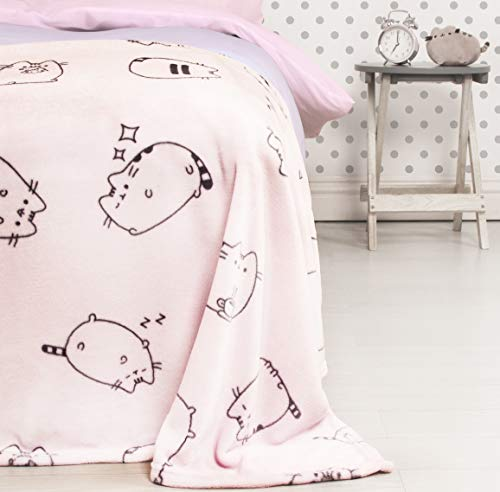 Pusheen Fleece Decke Sweet 100x150cm rosa