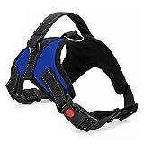 PACKNBUY Dog Harness No Pull Reflective Adjustable Vest (Large)