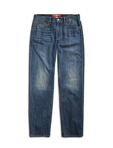 Lucky Brand Men's 429 Classic Straight Leg Jeans in Denali Wash (28W x 32L)