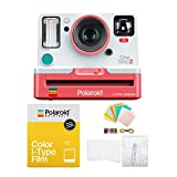 Polaroid Originals OneStep2 VF i-Type Instant Camera (Coral) with i-Type Color Film and Accessory Bundle (3 Items)
