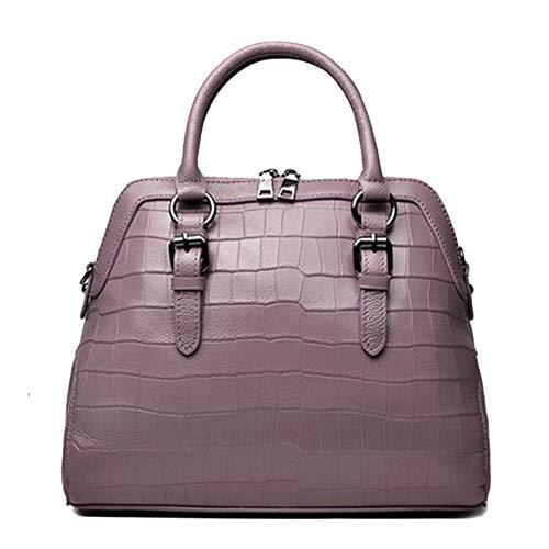 Handtas, dames Europese en Amerikaanse koe leren handtassen mode dames schouder Messenger tas, geschikt voor werk reizen winkelen