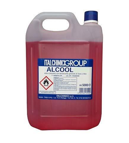 ALCOOL ETILICO DENATURATO 90° LT 5