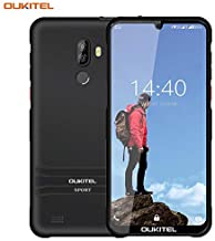 Điện thoại di động Android – OUKITEL Y1000 Rugged Smartphone IP68 Waterproof, 6.1 Inch Waterdrop Display Unlocked Cellphone, Android 9.0 Dual 3G SIM 2GB+32GB Outdoor Mobile Phone, 3600mAh Battery Fingerprint Face ID (Black)