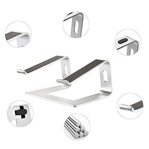 DQMSB Portable Aluminum Laptop Stand Holder Ergonomic Elevator Metal Riser For 10-17 Inch Mac MacBook Pro Air Apple Notebook PC Deskto