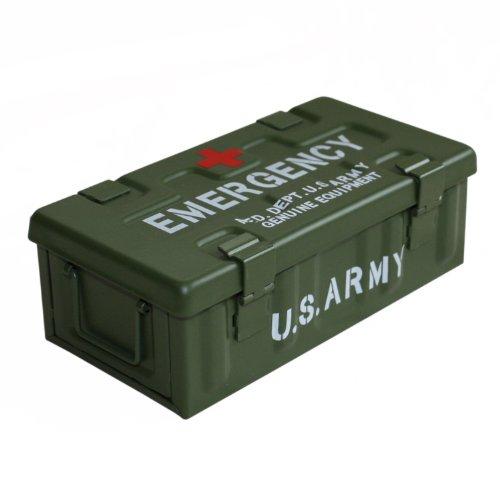 アンドグラッド MILITARY EMERGENCY BOX グリーン(ARMY) 20360