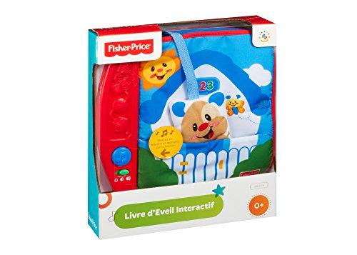 Fisher Price M5024 - Libro interattivo  in tessuto per...