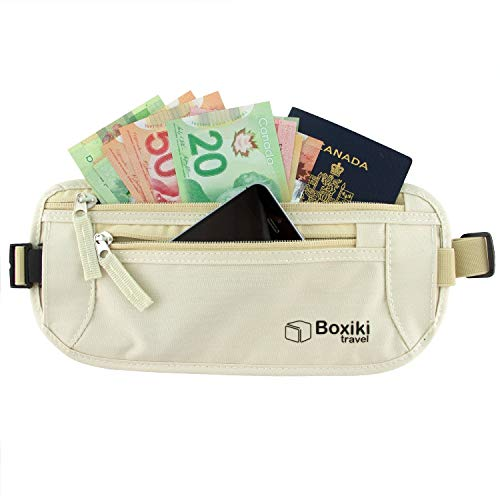 Money Belt - RFID Blocking Money Belt | Safe Waist Bag, Secure Belt for Men and Women...