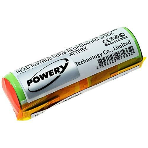 Powery Batería para Cepillo de Dientes Oral-B Triumph 9900