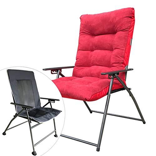 Chaises Longues Chaise Longue Paresseux Canapé Arrière Bureau Balcon Pause Déjeuner Hiver Et Été Double Usage 4 Couleurs (Couleur : D)