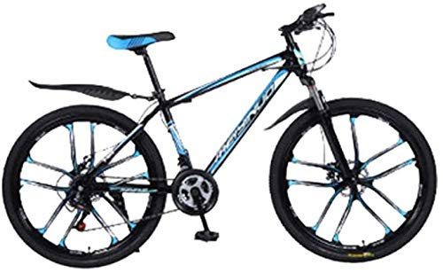 DALUXE Mountain Bike for Men Land Rover Outroad Mountain Bike Inch Steel High-Carbon 21 Speed 26 Frame Bicycle,as Shown